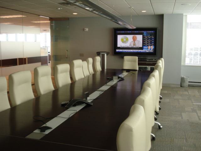 Corporate Boardroom Recessed Ceiling Speakers,