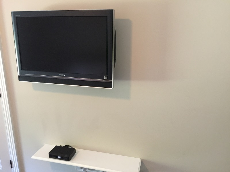 Shelf for Cable Box
