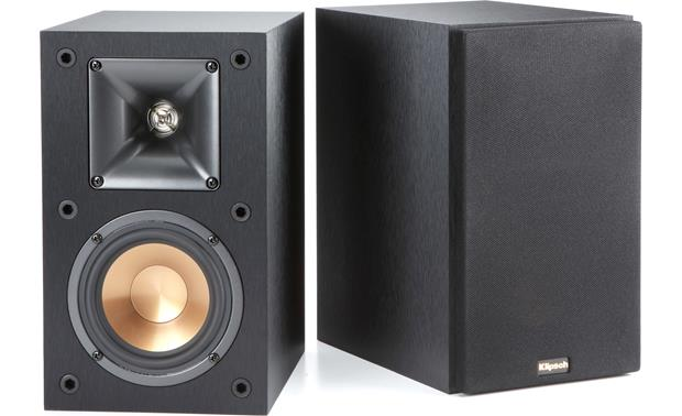 Klipsch R14M Bookshelf Speaker, HxWxD 9 13/16 x 5 13.16 x 8 1/8