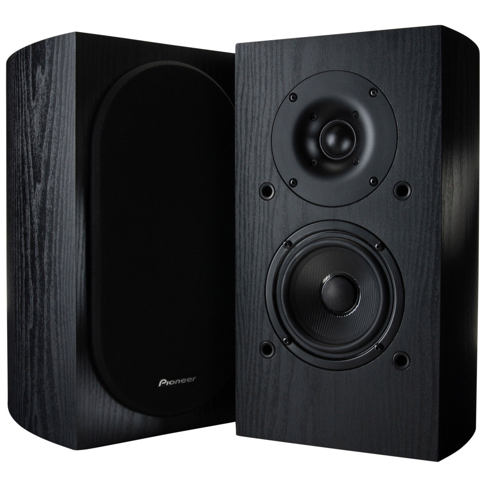 Pioneer SP-BS22 Andrew Jones Designed Bookshelf Speaker, DxWXH 8.4 x 7.1 x 12.6 inches