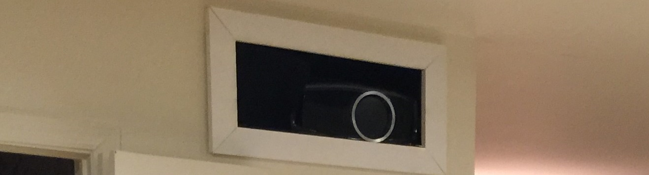 Home Theater Projector Installation