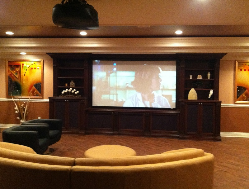 Media Room & Entertainment Center