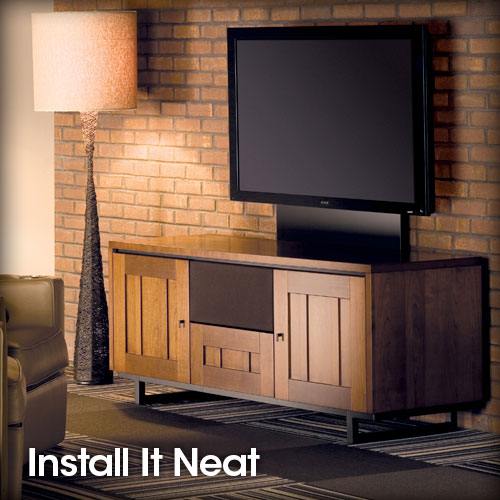 Install Home Theater System Neatly