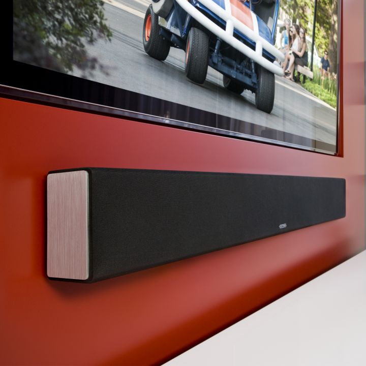 Recessed TV, Surface Mounted Speaker